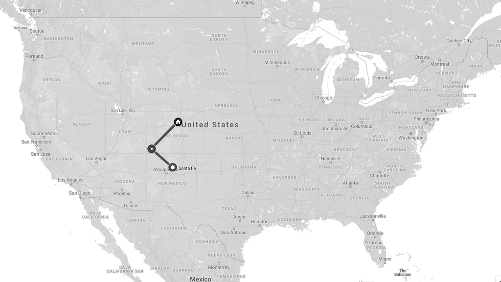 santa fe map updated