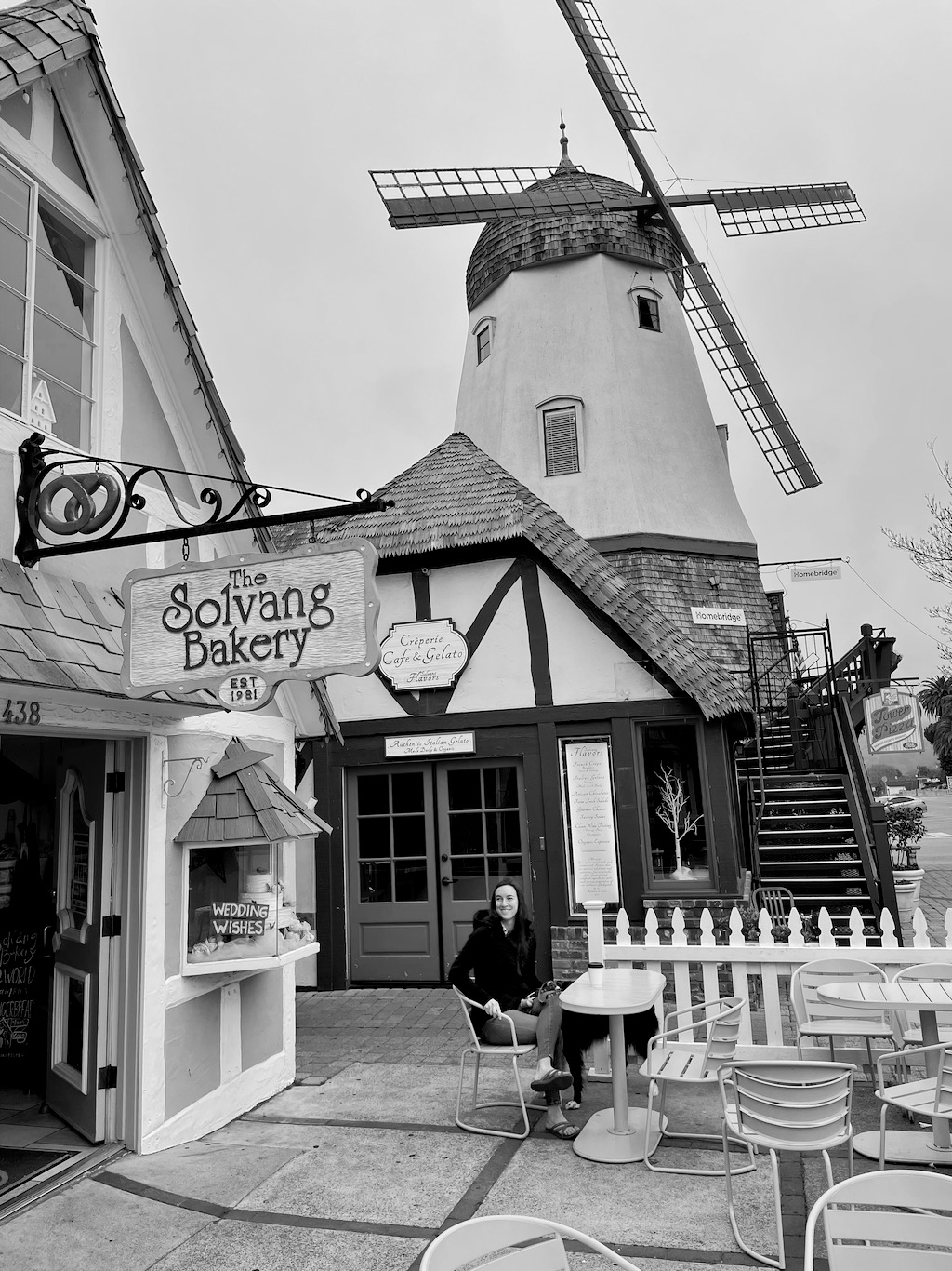 Our quick stay in Solvang, a Danish-inspired city.