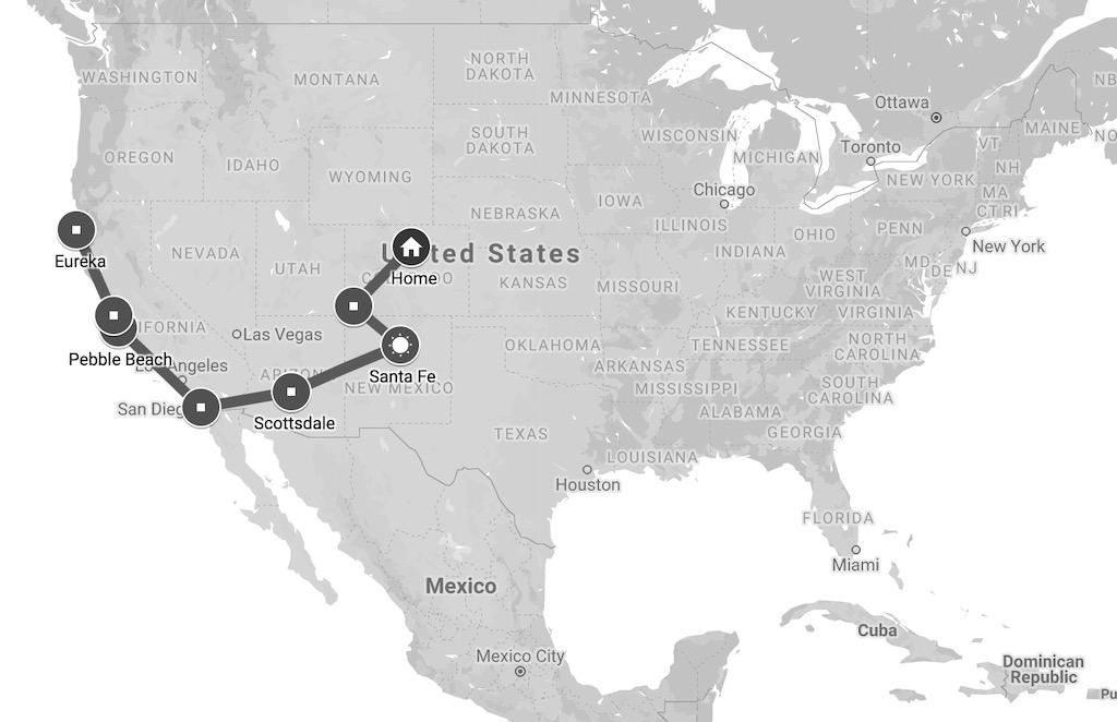 ca map